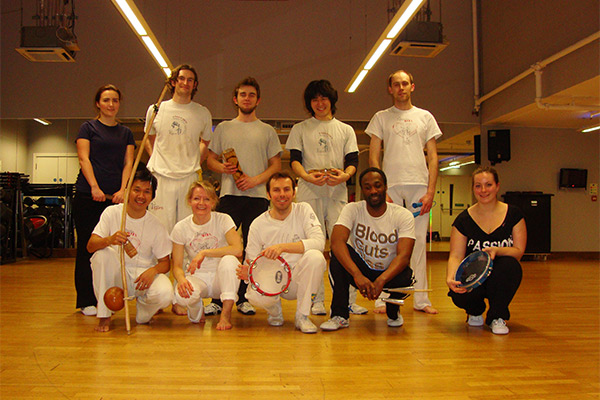 Capoeira Agora forBreast Cancer Care event